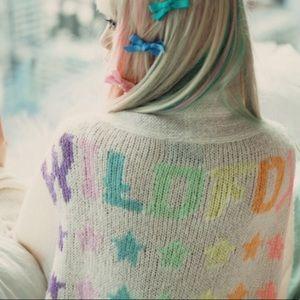 WILDFOX Stars Slouch Cardigan